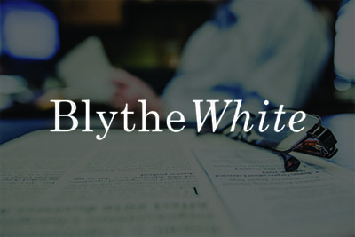 Blythe White Website Design