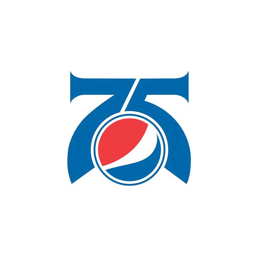pepsi 75 logo | branding