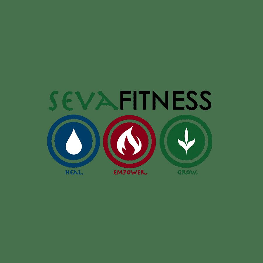 sevafitness logo | branding
