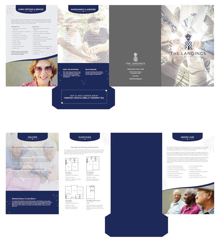 Collateral Graphic Design - Brochure | Print Design