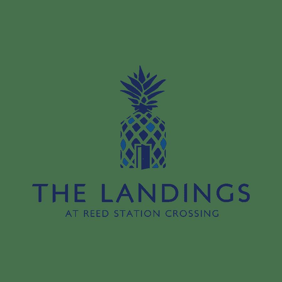 landing logo | branding